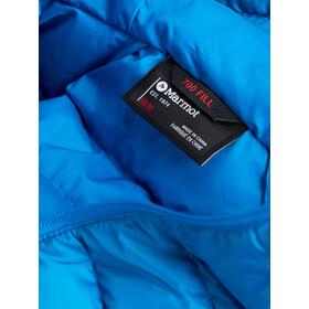 Marmot Highlander Manteau à capuche Duvet Homme, clear blue